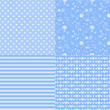 Romantic seamless patterns with hearts. Vector illustration. Romantic seamless patterns with hearts. Illustration. Background Royalty Free Stock Photography