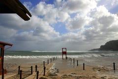 Romantic seascape, Mondello Royalty Free Stock Image