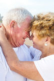 Romantic senior couple Royalty Free Stock Image