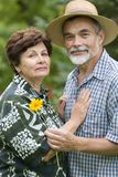 Romantic senior couple 2 Royalty Free Stock Image