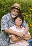Romantic senior couple Royalty Free Stock Photography