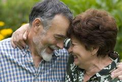 Romantic senior couple Royalty Free Stock Photography