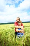 Romantic senior couple Royalty Free Stock Photo