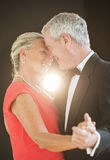 Romantic Senior Couple Dancing Stock Photography