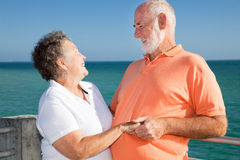 Romantic Senior Getaway Royalty Free Stock Photo