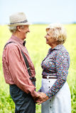 Romantic seniors Royalty Free Stock Photo