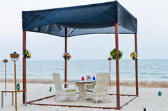 Romantic Set Up Table For Special Occassion Royalty Free Stock Image