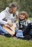 Romantic song Stock Photos