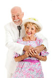 Romantic Southern Senior Couple stock photo
