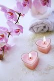 Romantic SPA Royalty Free Stock Images