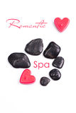 Romantic spa concept Royalty Free Stock Photos