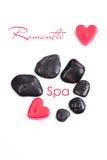 Romantic spa concept Royalty Free Stock Photos