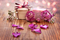 Romantic spa decoration Stock Photography