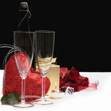 Romantic still life Stock Photos