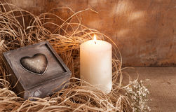 Romantic still life Royalty Free Stock Photography