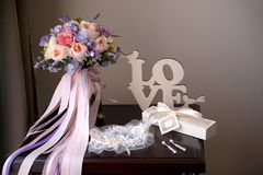 Romantic still life Royalty Free Stock Image