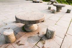 Stone  table Stock Photo