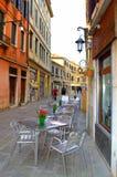 Romantic street in Venice,Italy Royalty Free Stock Photo