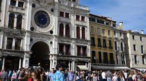 Romantic streets of  old Venice.Italy Stock Photos