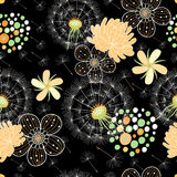 Romantic Summer Floral Pattern Royalty Free Stock Photo