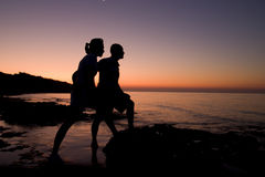 Romantic Sunrise Royalty Free Stock Image