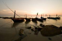 Romantic sunset Stock Images