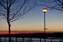 Romantic sunset Stock Image