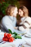 Romantic supper Royalty Free Stock Photography