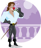 Romantic Swashbuckler Stock Photo