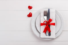 Romantic table setting Royalty Free Stock Photos
