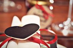 Romantic table setup Stock Photography