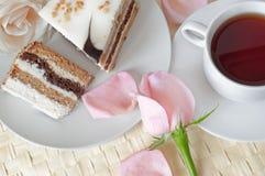 Romantic tea Royalty Free Stock Image