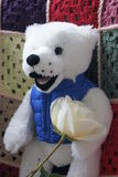 Romantic teddy bear. Stock Photography