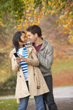 Romantic Teenage Couple Royalty Free Stock Photo