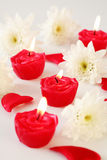 Romantic and tender Valentine Stock Images