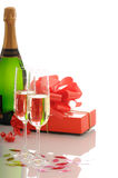 Romantic toast Royalty Free Stock Image