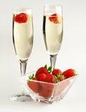 Romantic toast Royalty Free Stock Photo