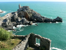 Romantic town of Portovenere in Italy Royalty Free Stock Photos