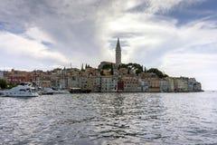 Romantic town Rovinj in Croatia Royalty Free Stock Photos