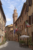 Romantic town in Tuscany Royalty Free Stock Image