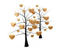 Romantic tree Royalty Free Stock Image