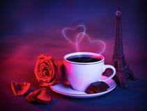 Romantic trip to France Stock Photos