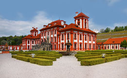 Romantic Troja Chateau - Prague, Landmark Royalty Free Stock Images