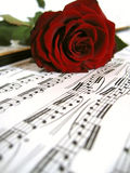 Romantic tunes Stock Images