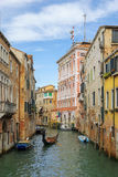 Romantic urban landscape of old Venice Royalty Free Stock Images