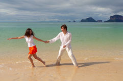 Romantic vacation Royalty Free Stock Photo