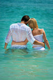 Romantic vacation on the sea Stock Photos