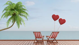 Romantic vacation Royalty Free Stock Photography