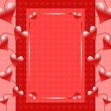 Romantic Valentine background Stock Photo