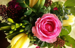 Romantic Valentine bouquet Stock Photography